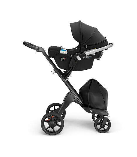 Stokke® PIPA™ by Nuna® Black Car Seat Black Melange, Black Melange, mainview view 7