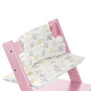 Tripp Trapp® Soft Pink with Sweet Butterfly Cushion. Detail.