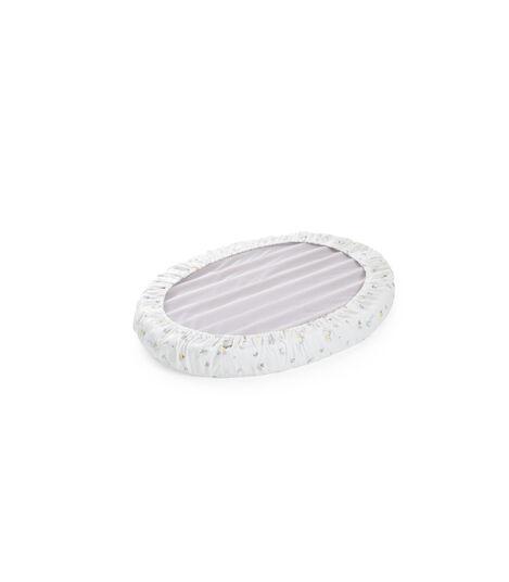 Stokke® Sleepi™ Mini Fitted Soft Rabbit. White. Bottom side.