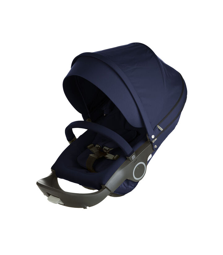 Accessories. Stokke Xplory & Crusi Seat. Deep Blue.