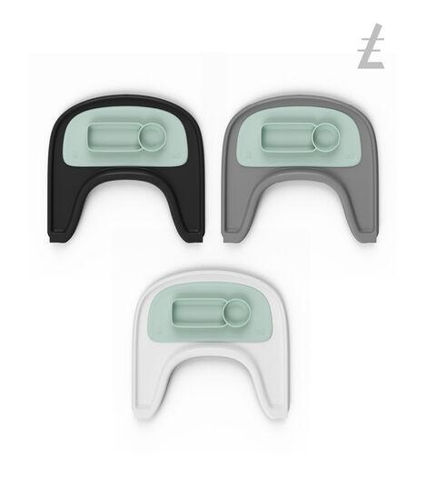 ezpz™ by Stokke®, Soft Mint. Stokke® Tray for Tripp Trapp®. view 4