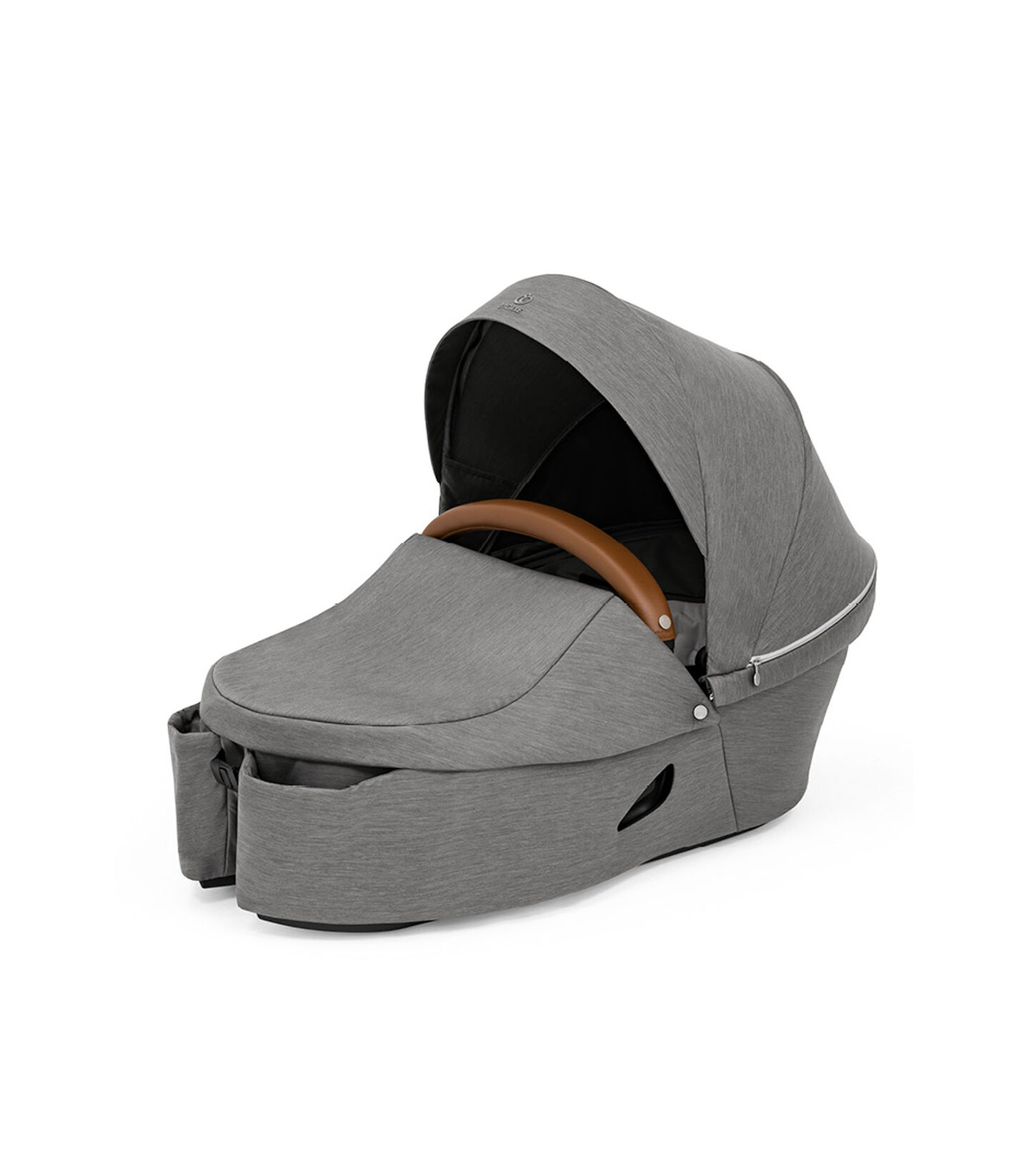 Stokke® Xplory® X Carry Cot Modern Grey, Modern Grey, mainview view 2