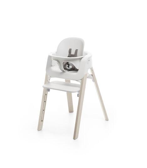 Stokke® Steps™ Baby Set in de kleur White, White, mainview view 3