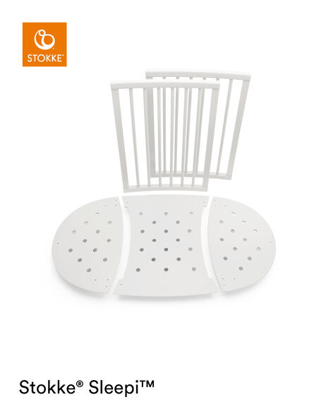 Stokke® Sleepi™ Bed Extension Blanc, Blanc, mainview view 6