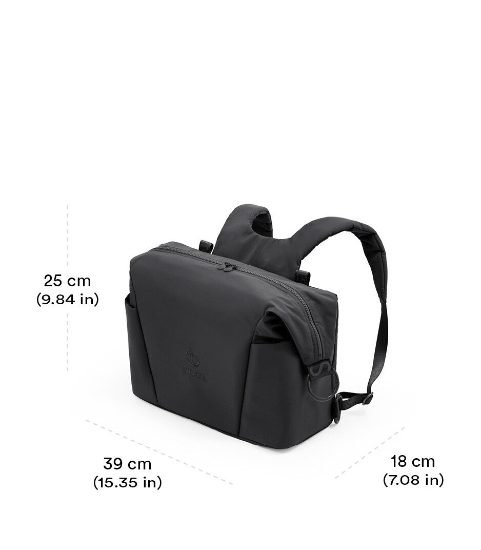 Stokke® Xplory® X Changing bag Rich Black view 1