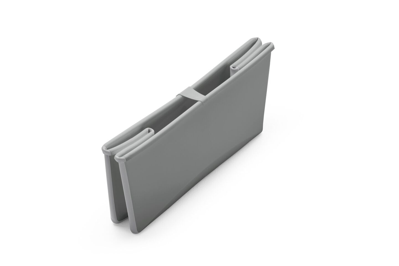 Stokke® Flexi Bath® bath tub, Grey. Folded.