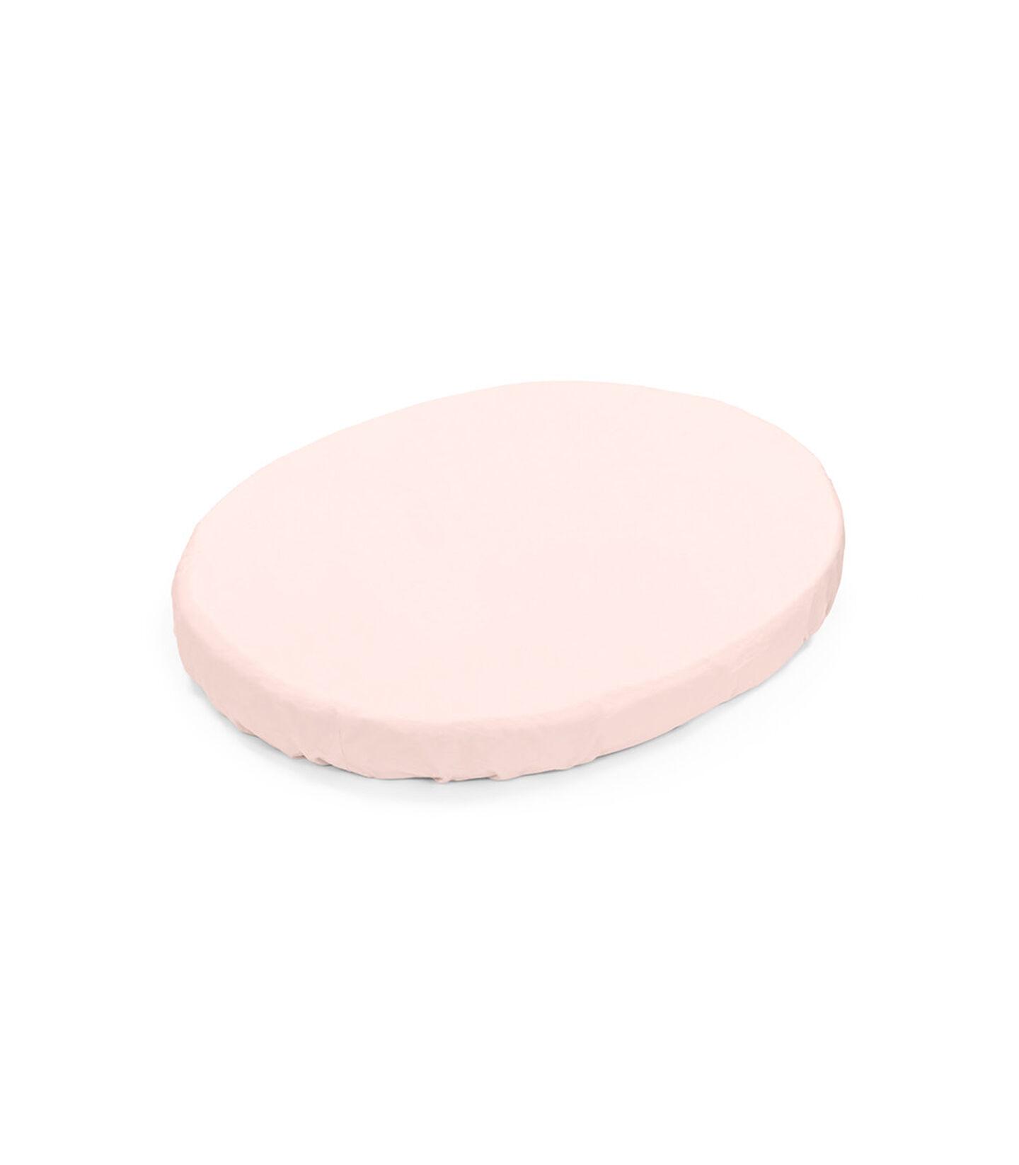 Stokke® Sleepi™ Mini Fitted Sheet. Peachy Pink. view 1