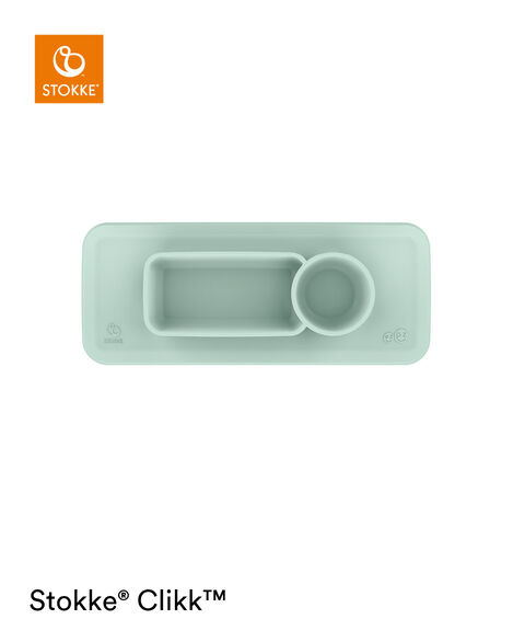 ezpz™ by Stokke™ placemat for Clikk™ Tray Soft Mint, Soft Mint, mainview view 8