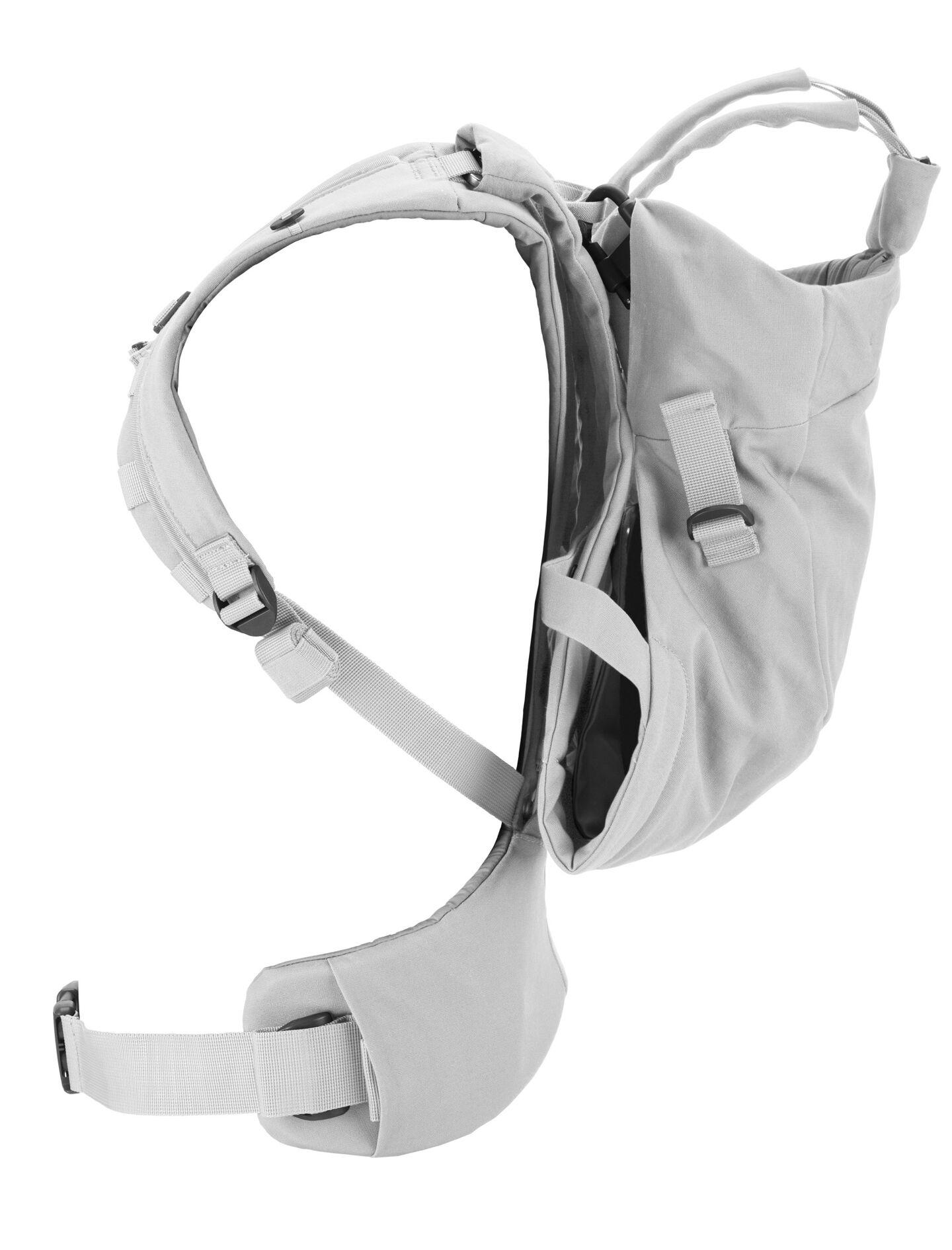Stokke® MyCarrier™ Back Carrier Grey. Profile.