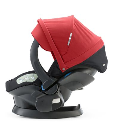 Car Seat, Red. Active position.