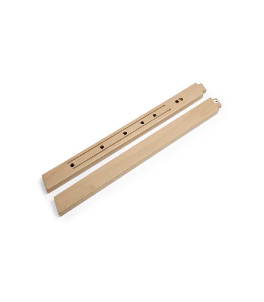 Stokke® Steps™ Wood leg set Front Natural. Sparepart.