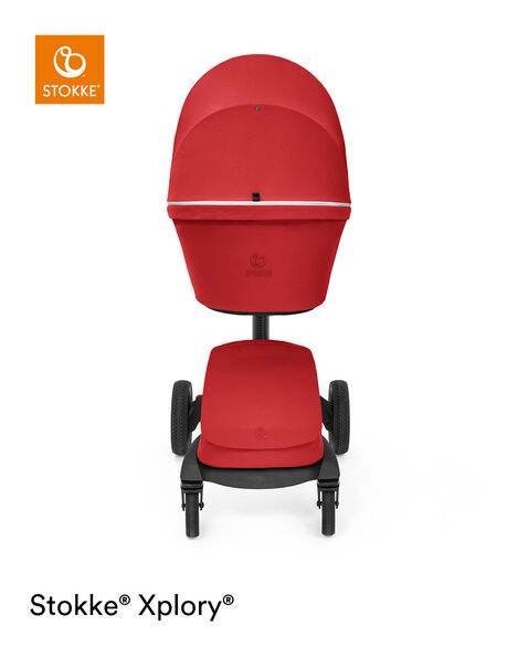 Stokke® Xplory® X Carry Cot Ruby Red, Рубиново-красный, mainview view 10