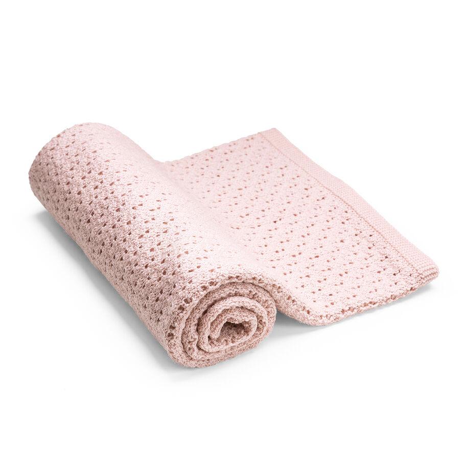 Stokke® Blanket Merino Wool, Pink, mainview view 39