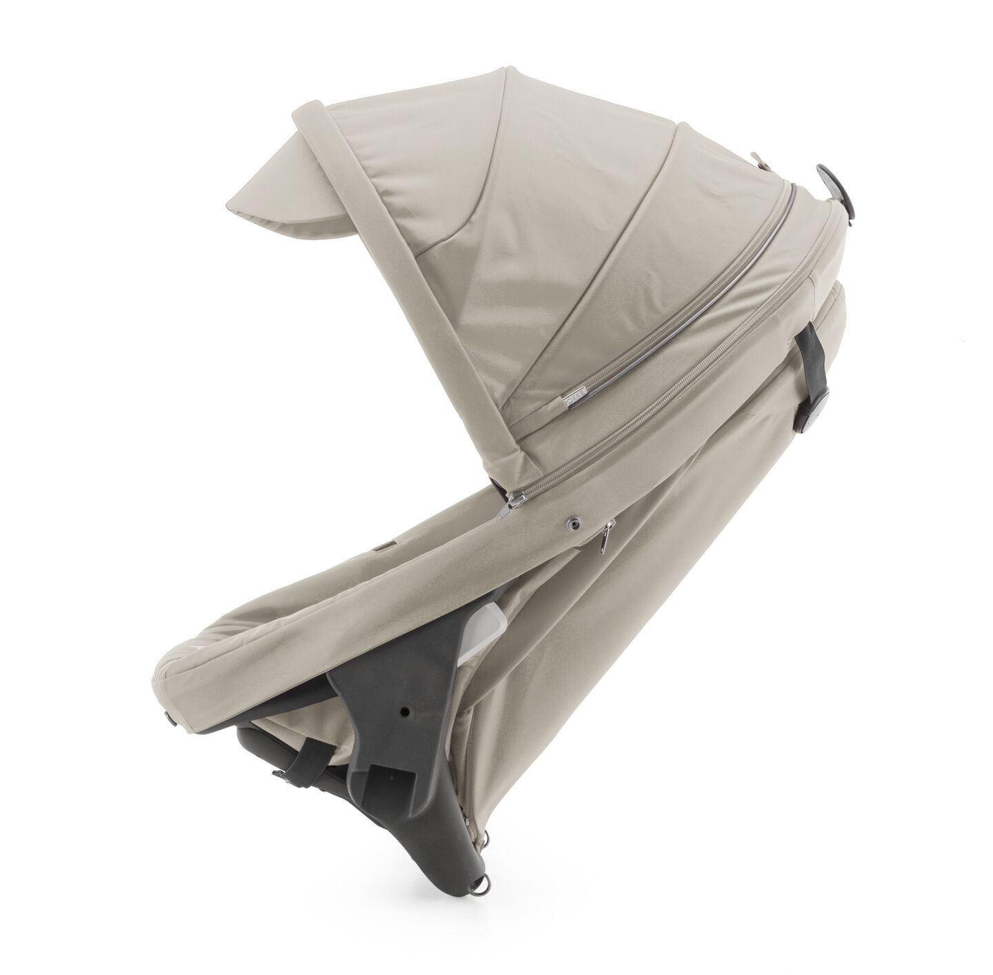 Stokke® Crusi™ Sibling Seat and sparepart seat for Stokke® Scoot™. Beige Melange.