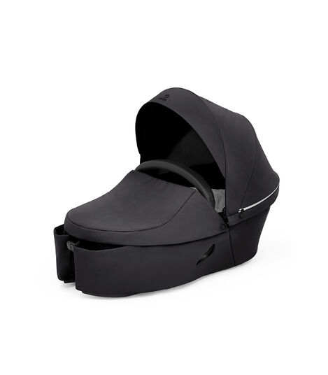 Stokke® Xplory® X Carry Cot Rich Black, Noir Profond, mainview view 7
