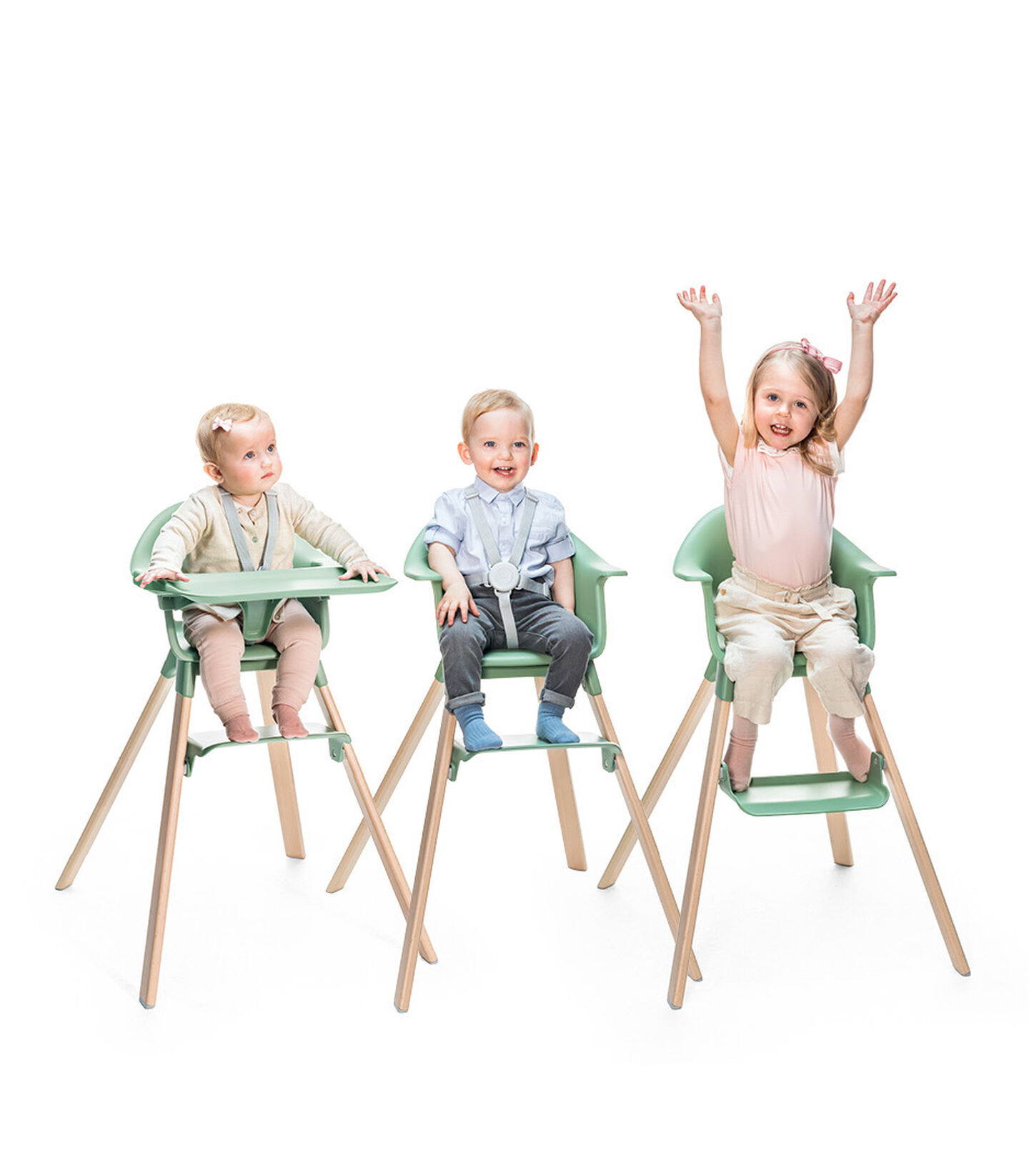 Stokke® Clikk™ High Chair. Grow line
