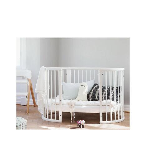 Stokke® Sleepi™ Bed Extension White, White, mainview view 3