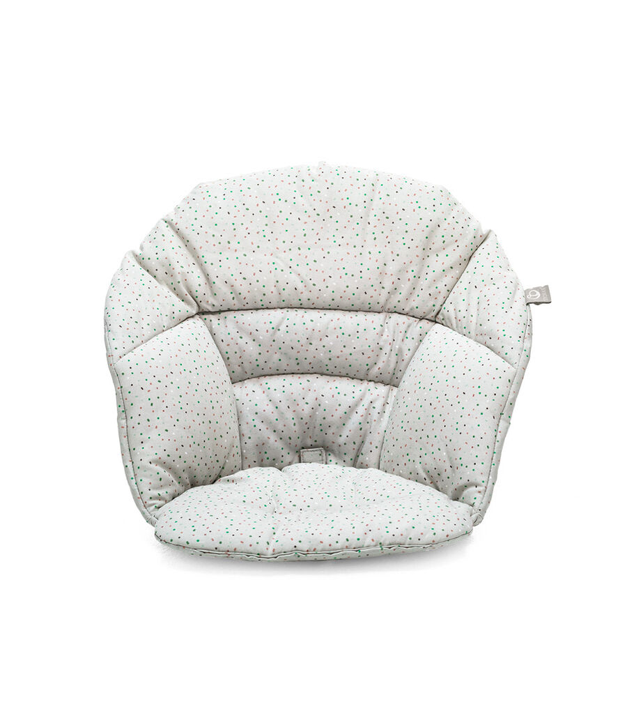 Stokke® Clikk™ Cushion in Grey Sprinkle.