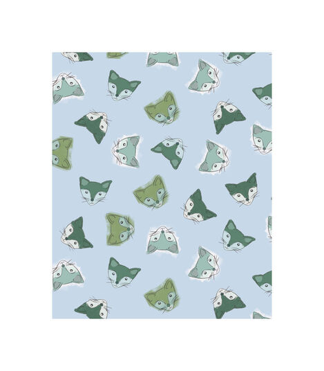 Tripp Trapp® Classic Cushion Blue Fox. Pattern. view 3