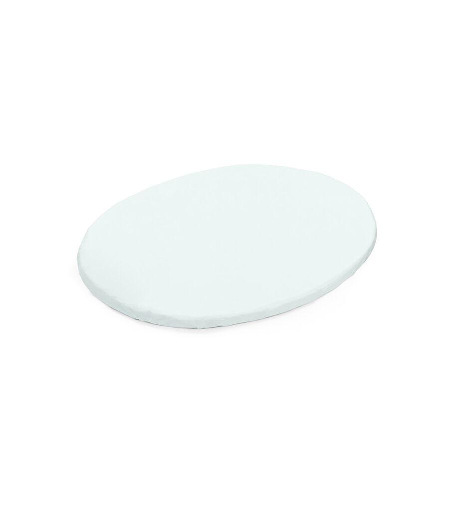 Stokke® Sleepi™ Mini Fitted Sheet, Powder Blue, mainview view 5