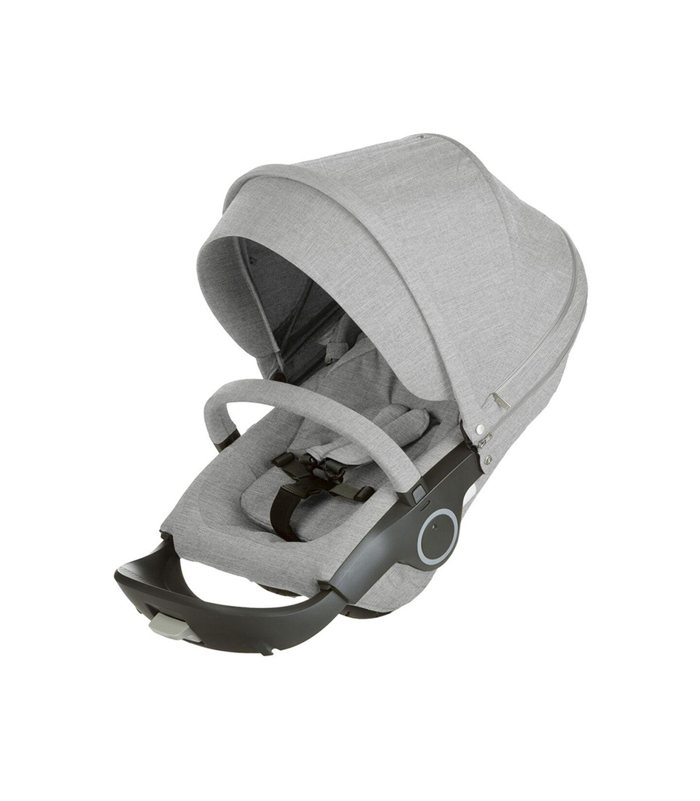 Stokke® Stroller Seat. Grey Melange.