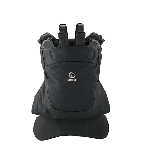 Stokke® MyCarrier™ Mochila frontal y dorsal Negro, Negro, mainview view 3