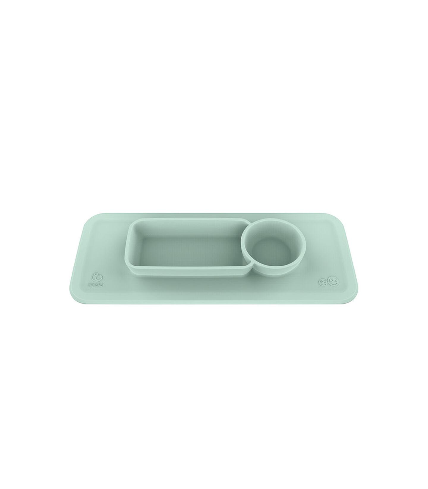 ezpz™ by Stokke™ placemat for Clikk™ Tray Soft Mint, Menta Chiaro, mainview view 1
