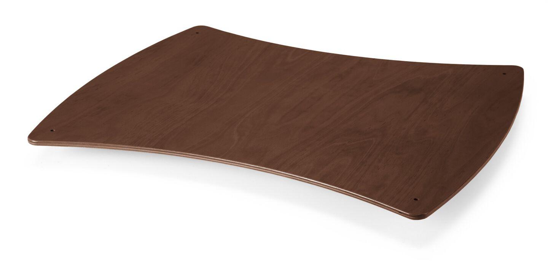 Spare part. 164801 Care 09 Shelf lower Walnut.