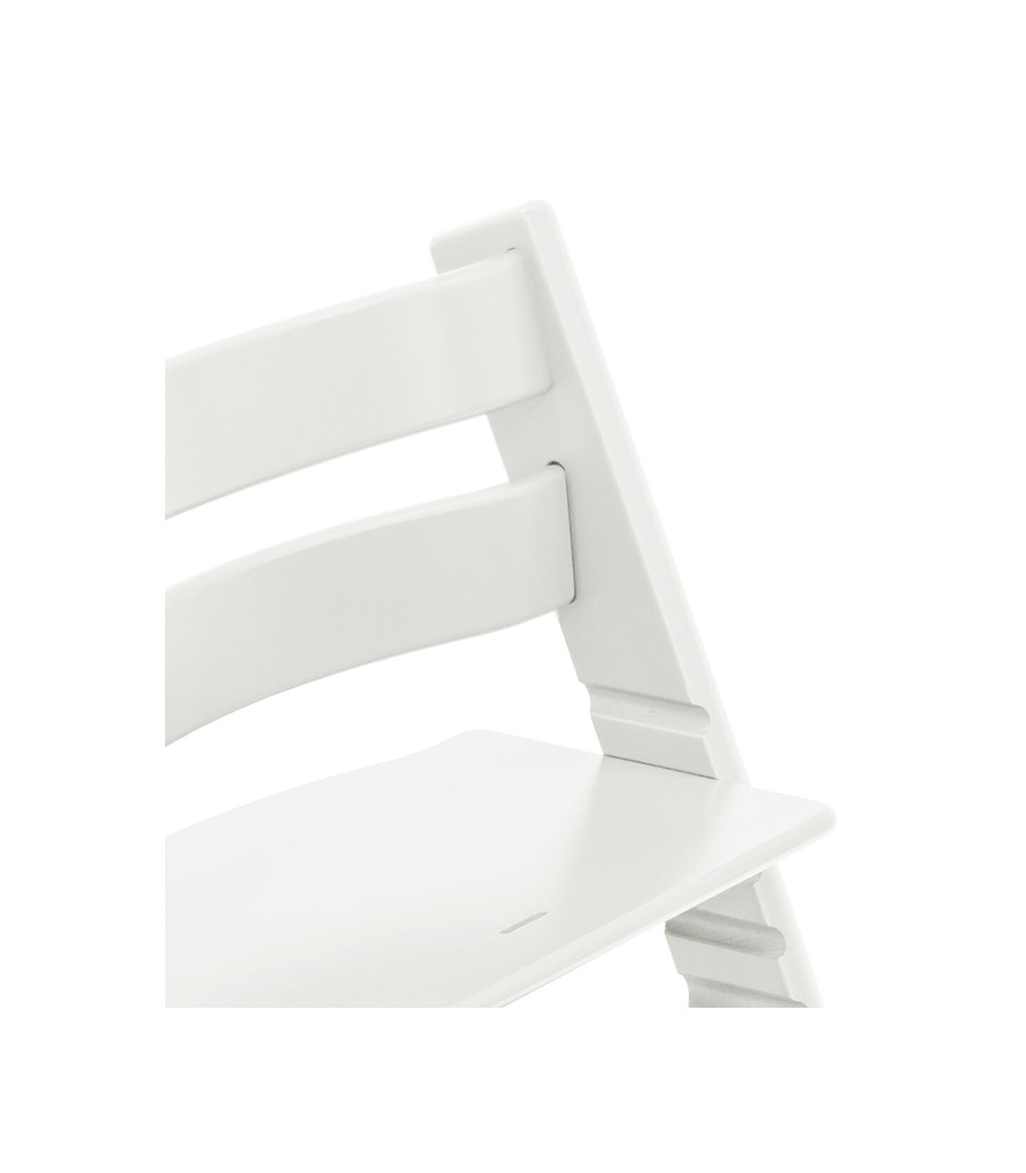 Tripp Trapp® Chair close up photo White view 2
