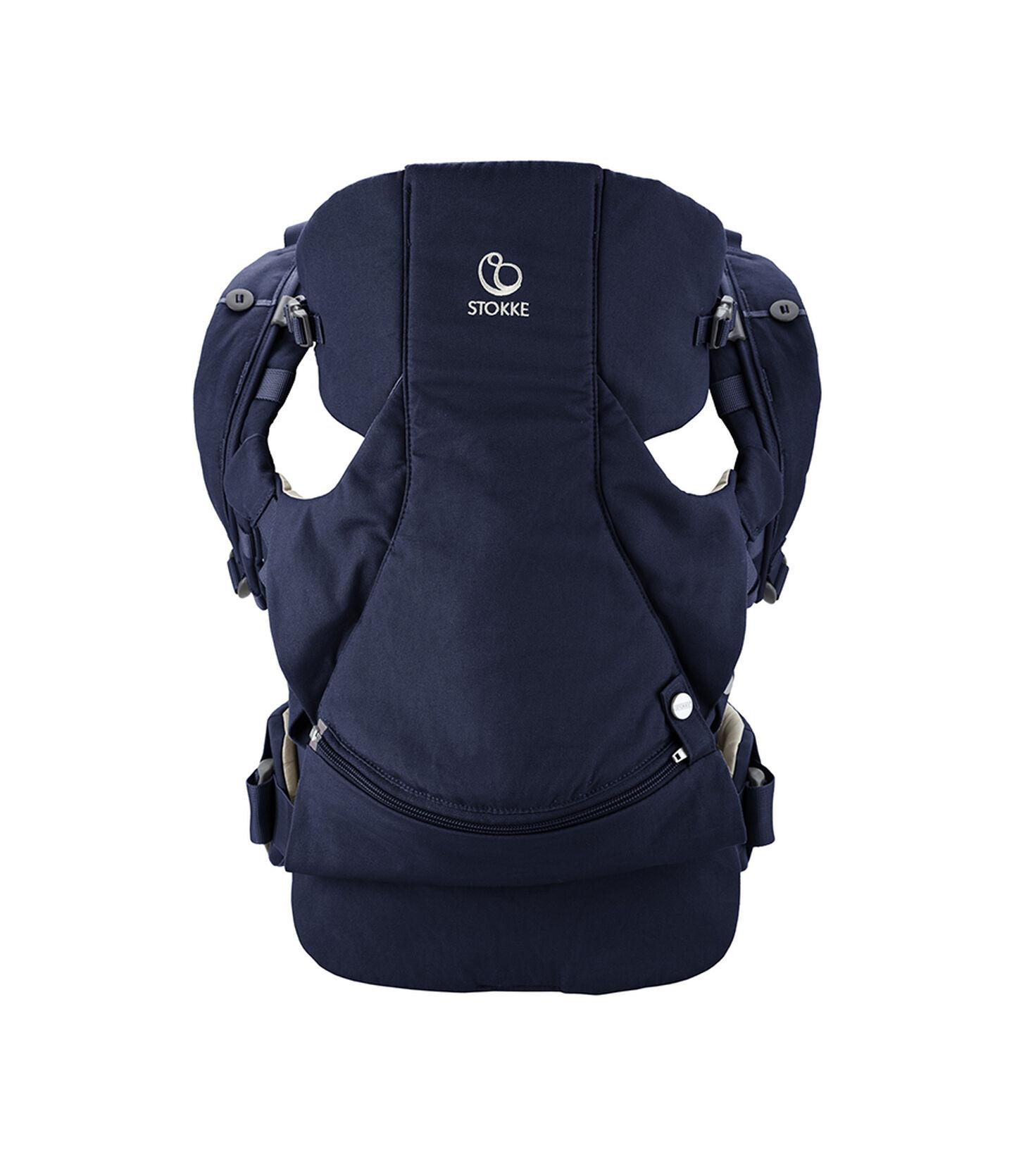 Porte-bébé ventral et dorsal Stokke® MyCarrier™ Deep Blue, Bleu foncé, mainview view 2