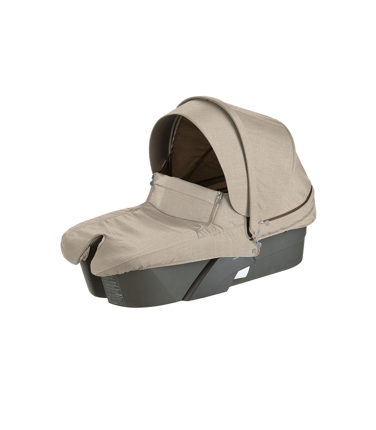 Stokke® Xplory® Carry Cot, Beige Melange.
