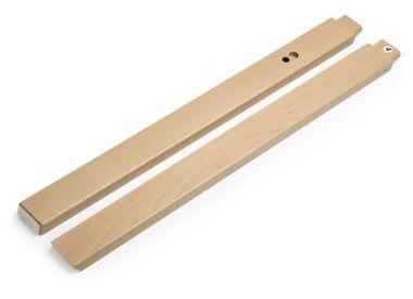 Stokke® Steps™ Wood leg set Back Natural. Sparepart.