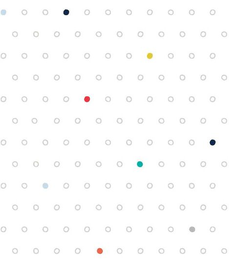 Stokke® Sleepi™ Fitted Sheet Pehr Rainbow Dot, Rainbow Dot, mainview