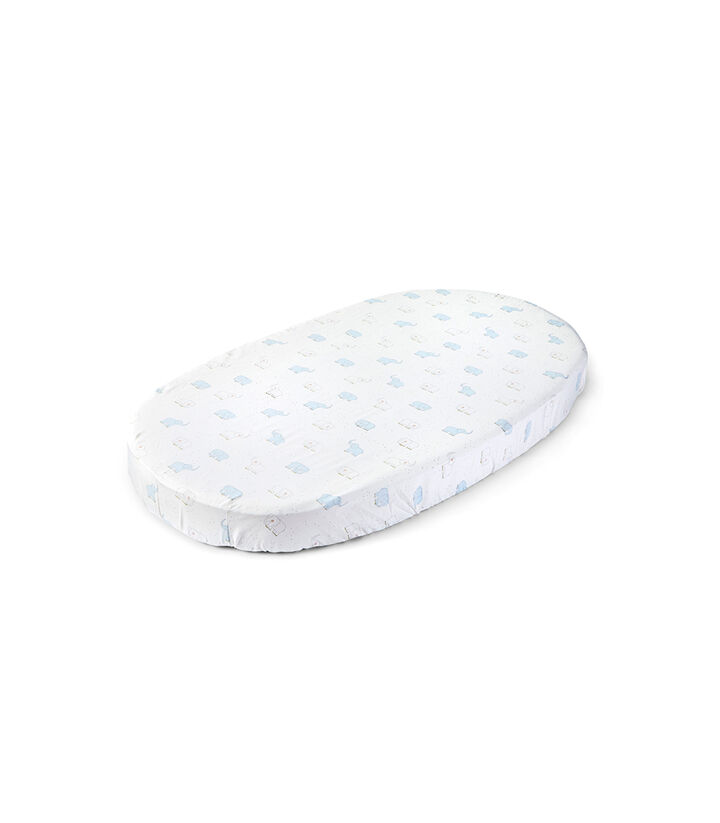 Stokke® Sleepi™ Fitted Sheet by Pehr, Elephant, mainview view 1