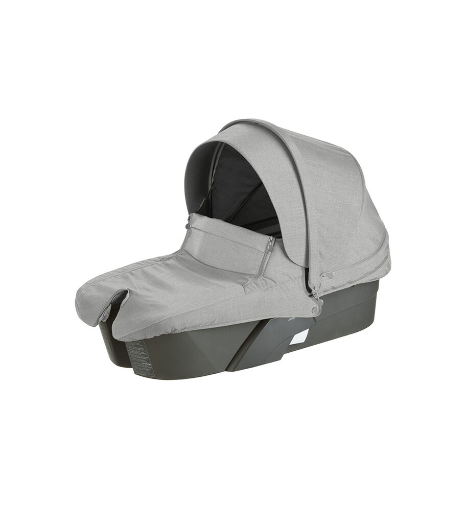 Stokke® Xplory® Carry Cot, Grey Melange.