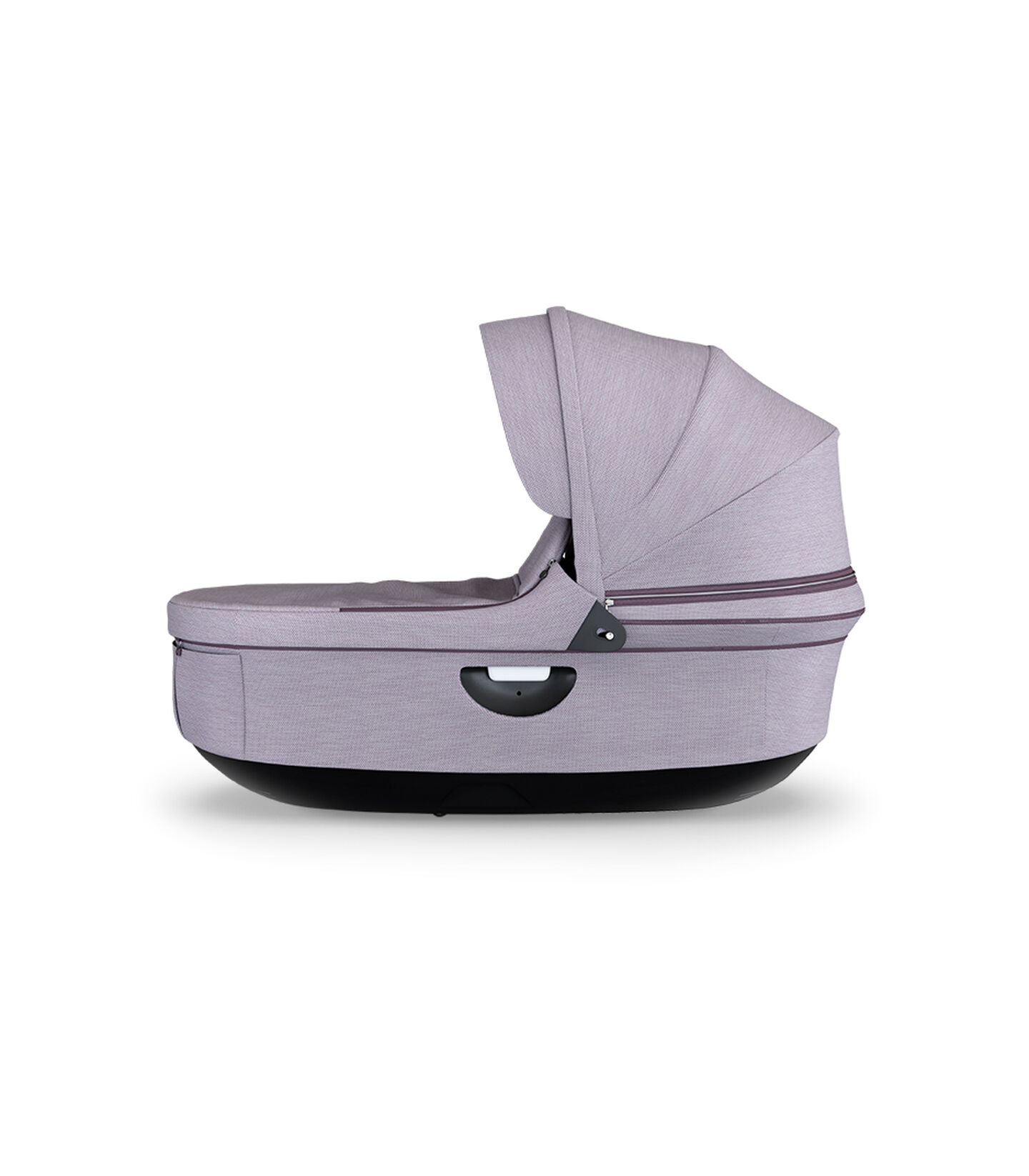 Stokke® Stroller Black Carry Cot Brushed Lilac, Brushed Lilac, mainview view 1