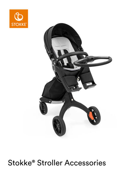 Stokke® Stroller AllW Inlay GrPr, Grey Pearl, mainview view 7