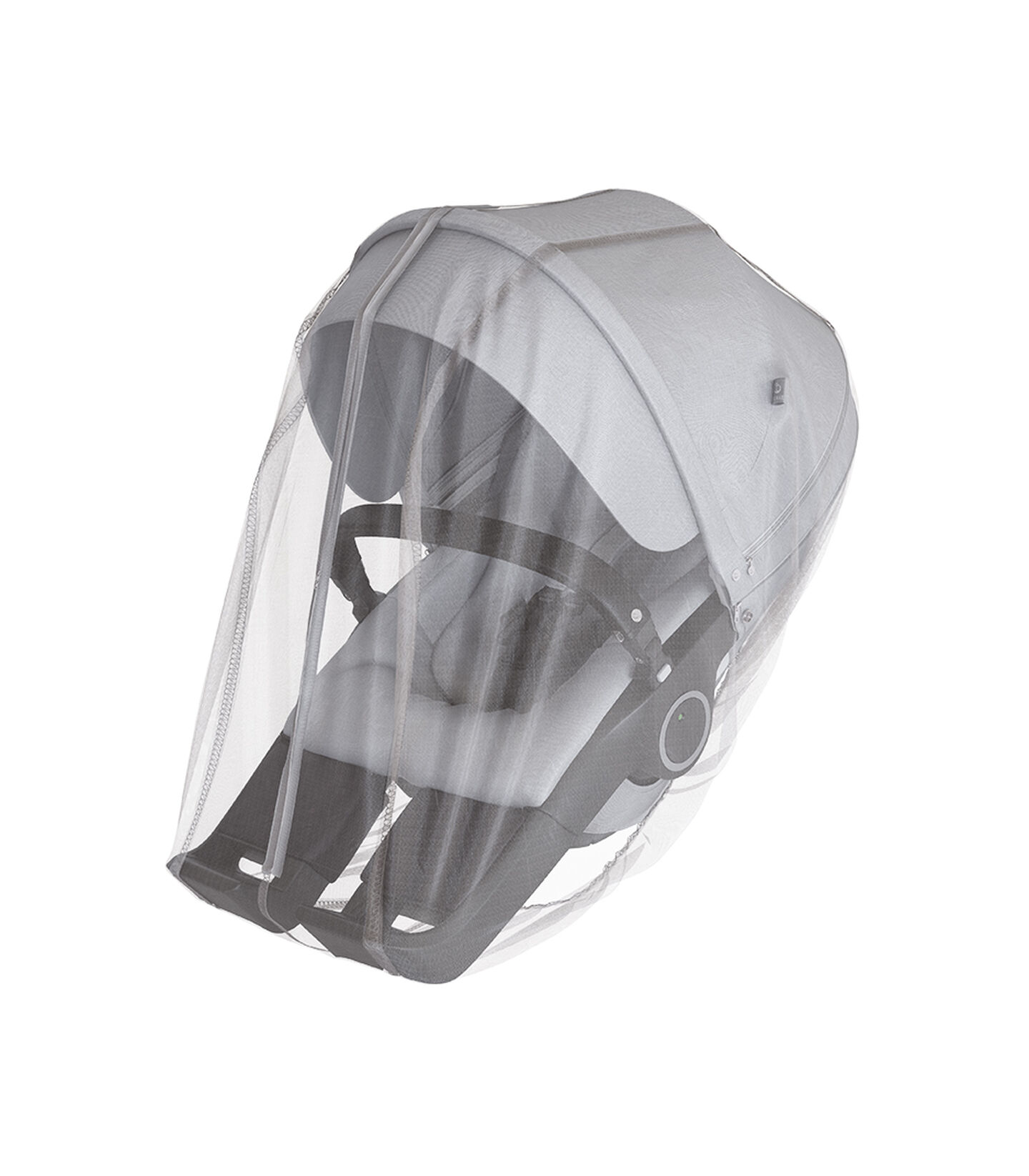 Stokke® Stroller Seat Brushed Grey and Stokke® Stroller Mosquito net. view 2