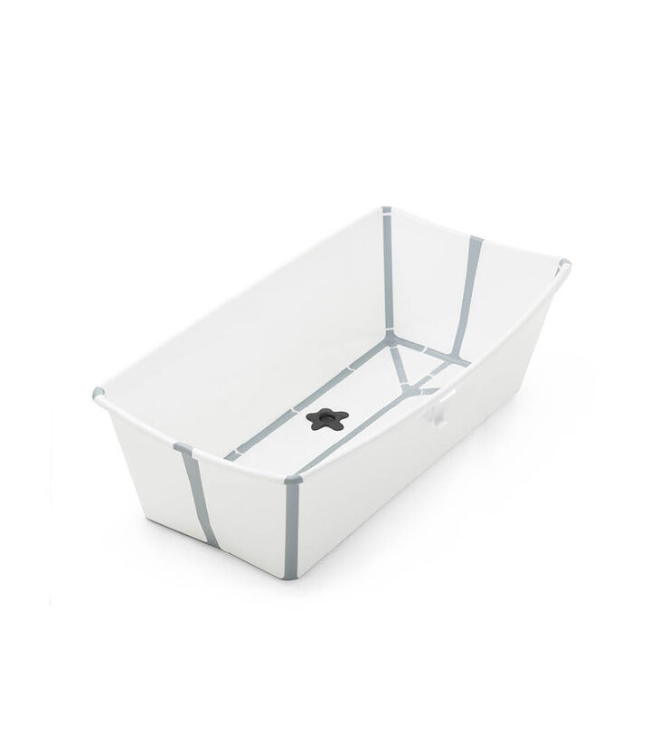 Stokke® Flexi Bath® XL bath tub, White Grey. view 1