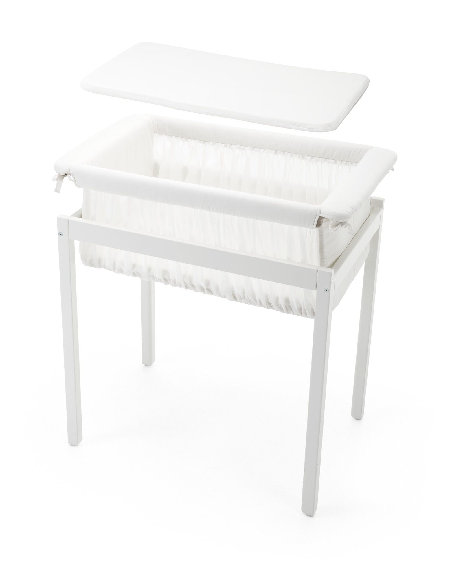 Stokke Home Cradle Fit Sheet White