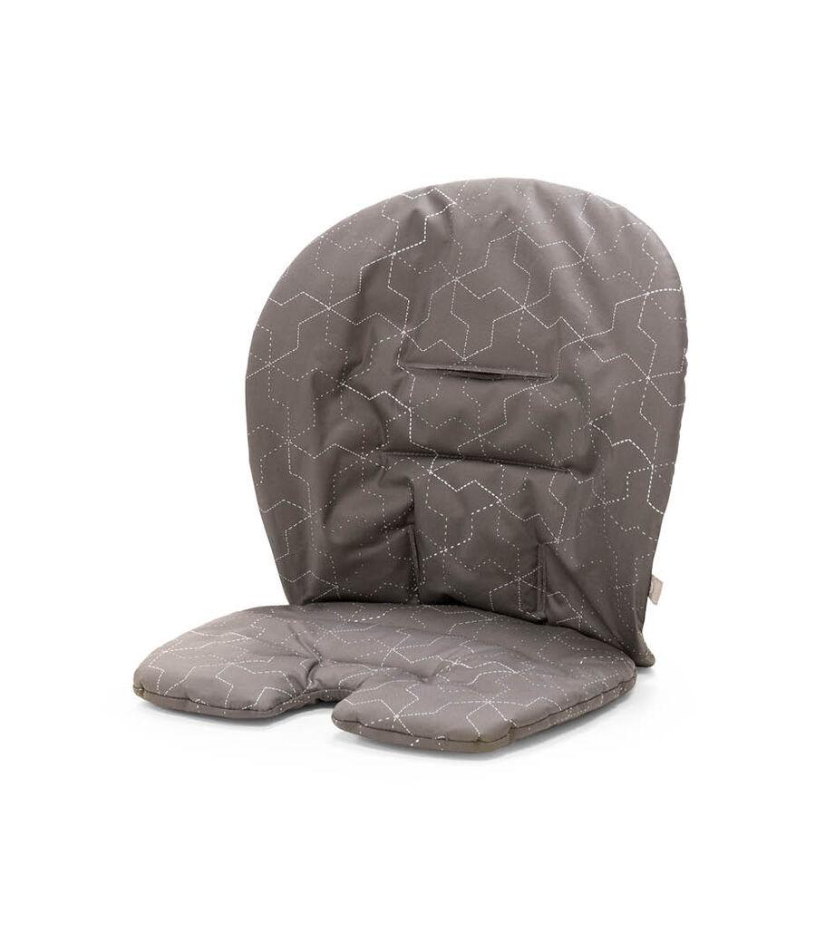 Stokke® Steps™ Accessories. Baby Set Cushion. Geometric Grey. view 87