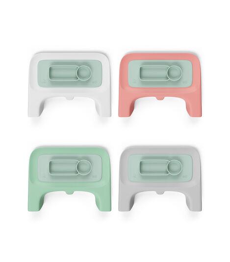 ezpz™ by Stokke®, Soft Mint. Used with Stokke® Clikk™ Tray. view 4