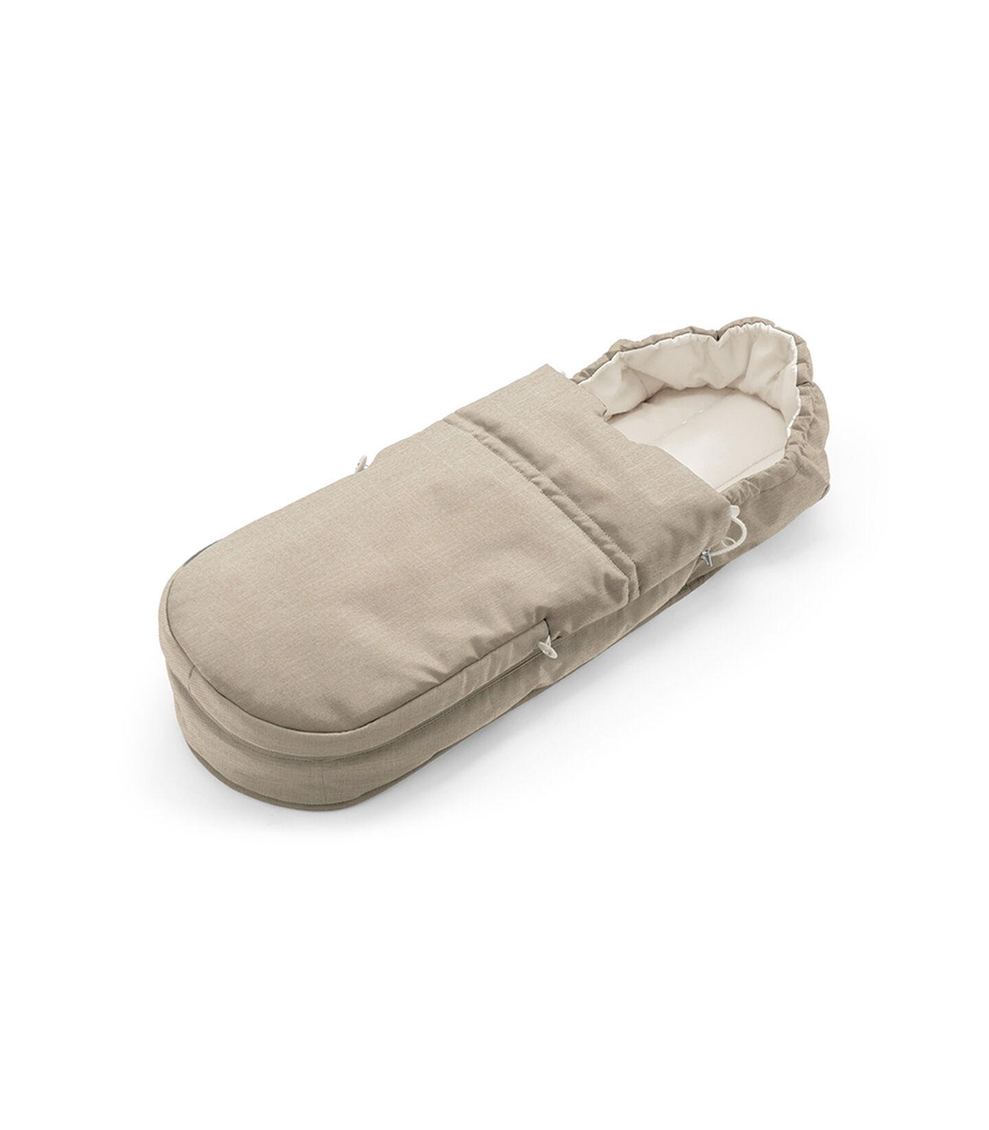 Accessories. Soft Bag, Beige Melange. view 1