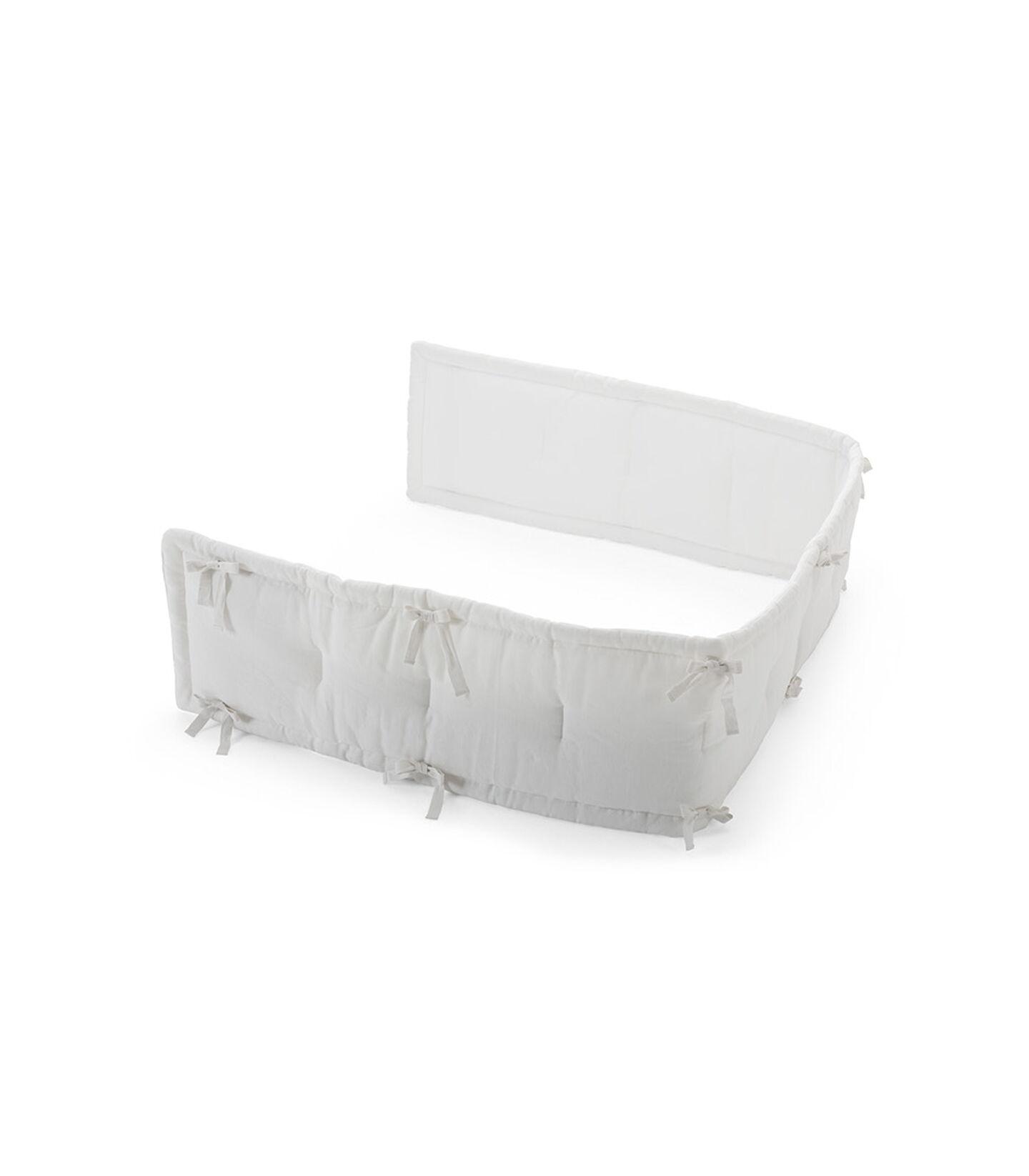 Stokke® Half Bumper, Linen White. view 1