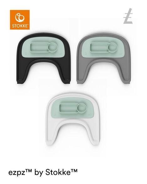 ezpz™ by Stokke®, Soft Mint. Stokke® Tray for Tripp Trapp®. view 6
