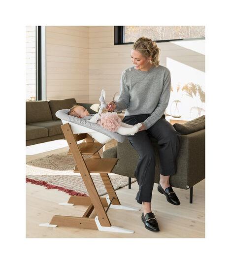 Tripp Trapp® Chair Oak Brown, Oak Brown, mainview view 2