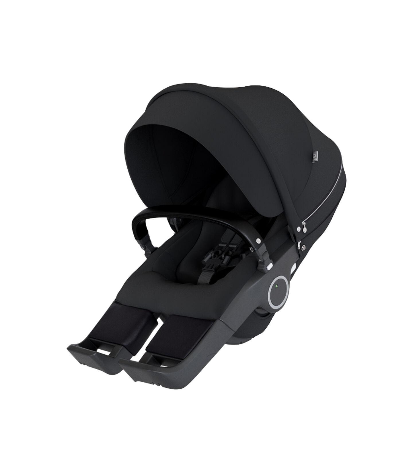Stokke® Stroller Seat Black, Noir, mainview