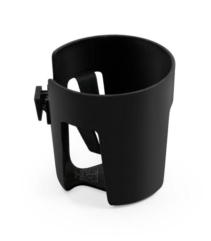 Stokke® Stroller Cup Holder, Black. view 1