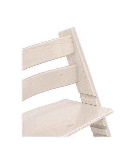 Tripp Trapp® Chair close up 3D rendering Whitewash