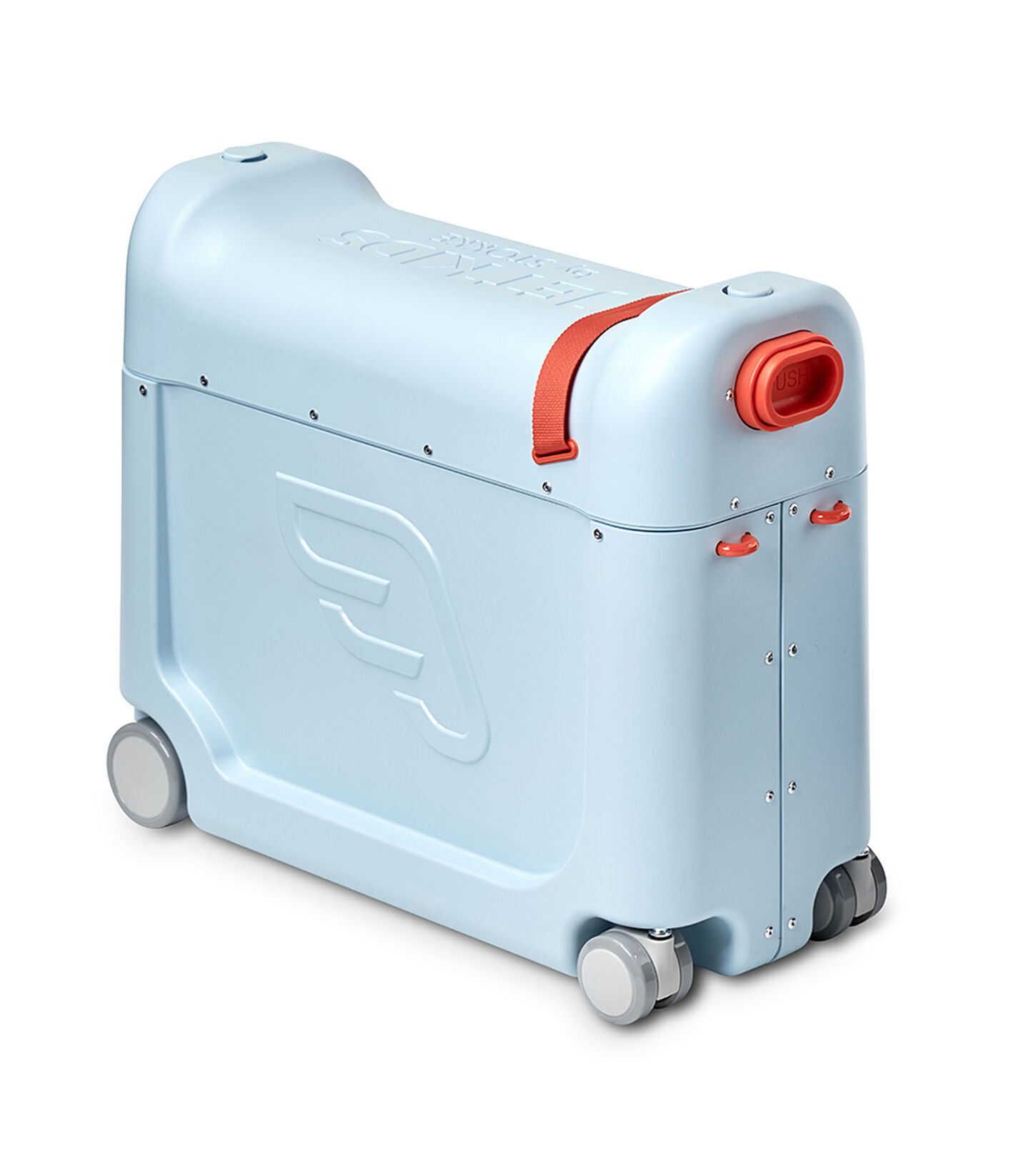 JetKids by Stokke® RideBox Blue, Blue Sky, mainview view 2